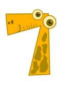 number,cartoon,math,numeral,counting,seven,media,clip art,public domain,image,svg,png,number,numeral
