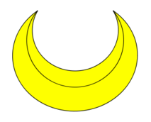 banner heraldry crescent moons - photo #7