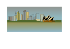 sydney,skyline,illustration,opera house,australia,city,building,real estate,building