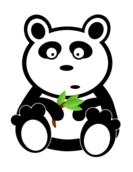 panda,cute,animal,bear,panda bear,cuddly,anime,cartoon,bamboo,leaf,zoo,endangered specie,kawaii