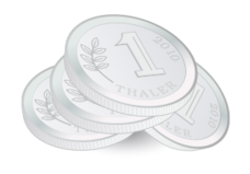 coin,thaler,currency,money,silver coin