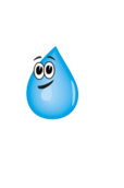 water,drop,liquid,rain,raindrop,blue,face,cartoon