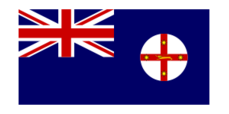 oceania,australia,flag,sign,new south wale
