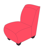 media,clip art,unchecked,public domain,image,png,svg,chair,soft,red,colour,cartoon,furniture