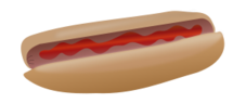 unchecked,hotdog,food,ketchup,catsup,media,clip art,public domain,image,svg,png