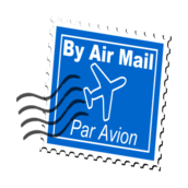 remix,unchecked,blue,stamp,air mail,airplane,postage,clip art,media,public domain,image,svg,png
