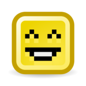 media,clip art,externalsource,unchecked,public domain,image,svg,png,smilies,rectangle,cute,yellow,small,15px,pixel art,sweet,throw up,angry,happy,sad,fun,funny,confused,weirded out,evil,kiss,kissing,question