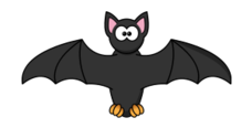 media,clip art,public domain,image,svg,png,cartoon,bat,mammal,animal,flying,halloween