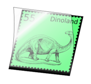 remix,colour,stamp,philately,dinosaur,stamp mount,clip art,media,how i did it,public domain,image,png,svg,photorealistic