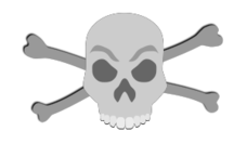 skull,bone,pirate,treasure,gold,booty,piracy,corsair,symbol,skeleton,media,clip art,public domain,image,svg,bone,bone