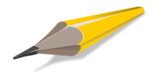 pencil,media,clip art,how i did it,public domain,image,png,svg