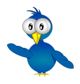 cartoon bird,tweety,blue bird,media,clip art,public domain,image,png,svg