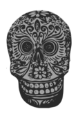 tatoo,skull,mexican,art,media,clip art,public domain,image,png,svg