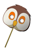 media,clip art,public domain,image,png,svg,owl,mask,carnavale