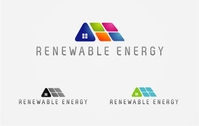energy,renewable,solar,panel,alternative,sustainable,house,logo
