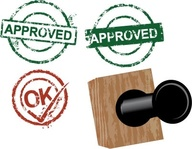 approved,rubber,stamp