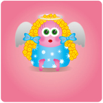 angel,christmas,cute,girly,xmas,angel cartoon