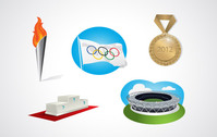 cauldron,gold,medal,olympics,ring,sport,stadium,olympic flag,torch,olympic torch