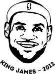 champion,face,nba,t shirt,lebron james,king james,miami,miami heat,lebron
