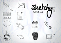 business,corporate,hand drawn,office,sketchy,work,productivity,organize,icon