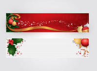 banner,christmas,christmas ball,decoration,holiday,ribbon,seasonal,season,header,yuletide,header,ball,tree,season