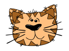 animal,cat,cartoon,outline,worldlabel,externalsource