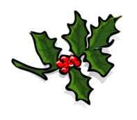 holly,plant,christmas,xmas,berry,leaf,decoration