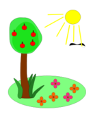 media,clip art,public domain,image,png,svg,cartoon,flower,plant,season,weather,nature,season