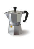 editorial pick,food,household,kitchen,coffee,maker,espresso,cafe,photorealistic,metal,metallic,remix problem