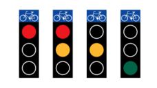 media,clip art,externalsource,public domain,image,png,svg,bicycle,red,yellow,green,road,drive,sweden