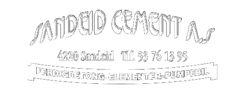 Sandeid,Cement,As