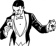 magician,card,trick,media,clip art,externalsource,public domain,image,png,svg,man,occupation,entertainment,magic,card,card trick,card